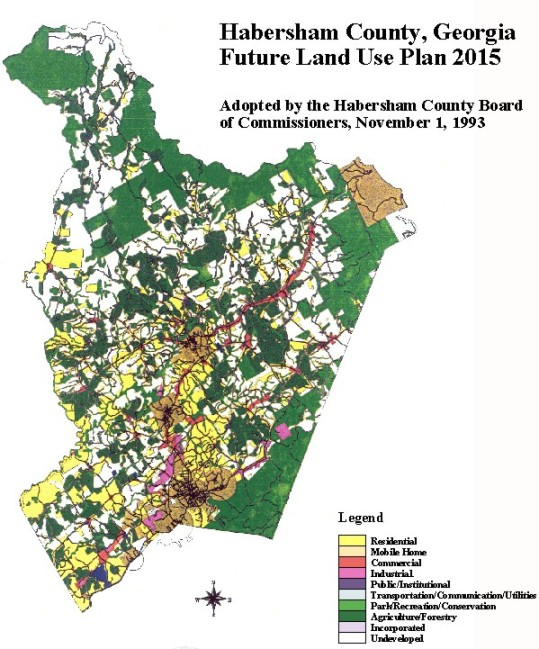 Future Land Use Map: 2015