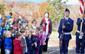 Veterans Day at Georgia Mountains Christian Academy