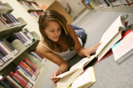 Young Girl Studies, Habersham County Libraries