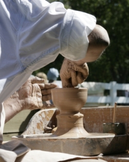 Pottery demonstrations are planned as part of the festivities